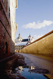 Old town street in Vilnius Stock Photography