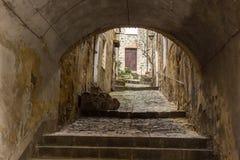 Montalcino city in Tuscany in Italy Stock Photography