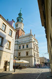Old town streets. Poznan Royalty Free Stock Photos