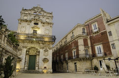 The old town of Syracuse, Sicily Royalty Free Stock Photography