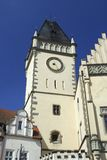 Old town Tabor. In the Czech Republic Royalty Free Stock Photo