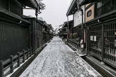 Old town Takayama Japan Royalty Free Stock Photos