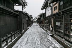 Old town Takayama Japan Royalty Free Stock Photos