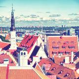 Old town of Tallin Stock Images