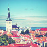 Old town of Tallin Stock Image