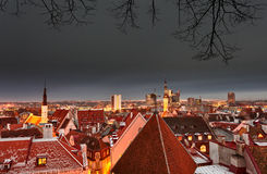 Old town of Tallinn Stock Photo