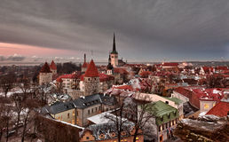 Old town of Tallinn Stock Photos