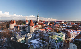Old town of Tallinn Royalty Free Stock Photography