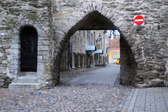 In the Old Town of Tallinn Royalty Free Stock Images