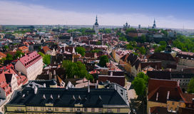 Old town of Tallinn Royalty Free Stock Photos