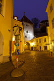 Old Town of Tallinn in the Early Morning Stock Photos