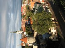 Old town of Tallinn, Estonia. Tallinn - capital of Estonia; view over the Tallinn Old Town. The Tallinn Old Town became a UNESCO World Cultural Heritage site in Royalty Free Stock Photography