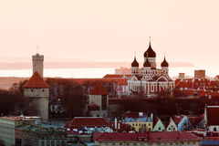 Old town of Tallinn Estonia Royalty Free Stock Images