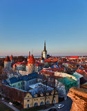 Old town of Tallinn Estonia Stock Photos