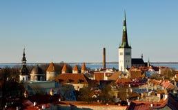 Old town of Tallinn Estonia Stock Image