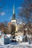 Old town. Tallinn, Estonia Stock Photography