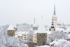 Old town. Tallinn,  Estonia Royalty Free Stock Image