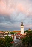 Old Town of Tallinn, Estonia Royalty Free Stock Image