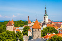 Old Town in Tallinn. Estonia, Europe Stock Photos