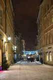 Old town of Tallinn in evening. Royalty Free Stock Photo