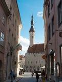 Old Town Tallinn Town Hall royalty free stock photo