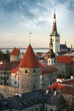 Old town of Tallinn Stock Image