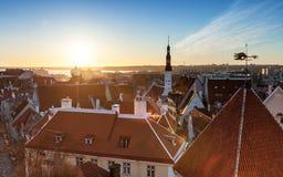 Old town of Tallinn Stock Photography