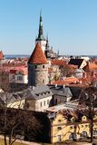 Old Town Tallinn royalty free stock photography