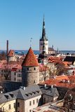 Old Town Tallinn royalty free stock photos