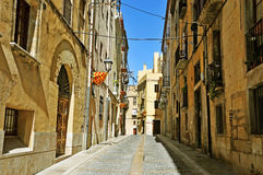 Old town of Tarragona, Spain Royalty Free Stock Photo
