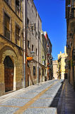 Old town of Tarragona, Spain Stock Images