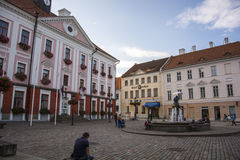 Old town in Tartu. Building in Tartu old town Royalty Free Stock Photography