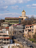 Old Town of Tbilisi Stock Photography