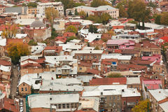 Old town of Tbilisi Stock Images