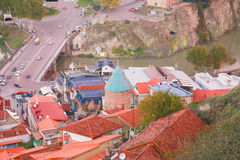 Old town of Tbilisi Royalty Free Stock Image