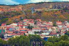 Old Town in Tbilisi Royalty Free Stock Photos