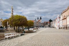 Old town Telc,Czech republic Stock Image
