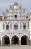 Old town Telc,Czech republic Stock Photography