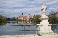 Old town Telc,Czech republic Royalty Free Stock Photo