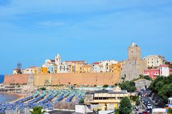 Termoli, Molise, Italy. The old town of termoli, molise, italy Stock Photos