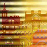 Old town textured background Royalty Free Stock Photos