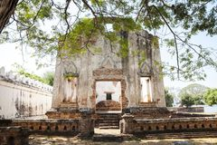 Old Town in thailand. Somdet Phra Narai National Museum in Lopburi, Thailand Royalty Free Stock Images