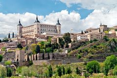 Old town of Toledo Stock Photography