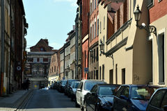 The old town in Toruń (Torun), Poland Stock Photos
