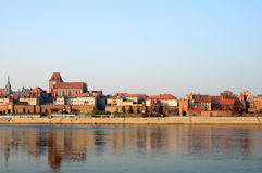 The old town of Torun Stock Image