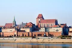 The old town of Torun Stock Photos