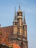 Old town Torun Stock Image
