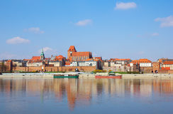 Old town of Torun, Poland Royalty Free Stock Photo