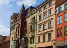 Old town of Torun, Poland stock images