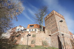 Old Town in Torun, Poland stock photography